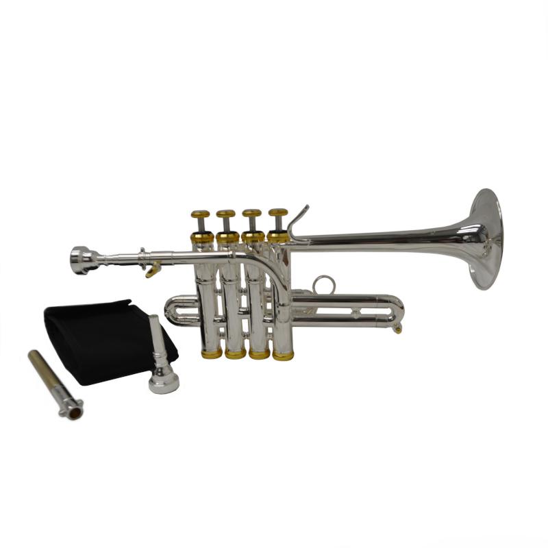 Elite Studio Piccolo Trumpet – Silver & Gold