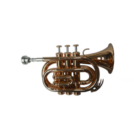 American Heritage Pocket Pro Copper Trumpet
