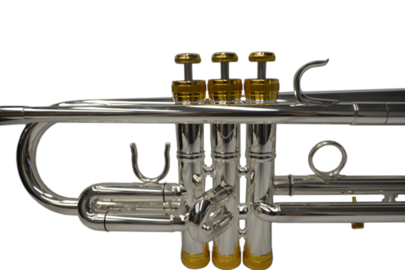 American Heritage Rivera Pro Trumpet Silver & Gold