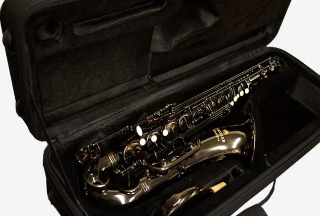 American Heritage 400 Tenor Saxophone – Black Nickel/Black Nickel Keys