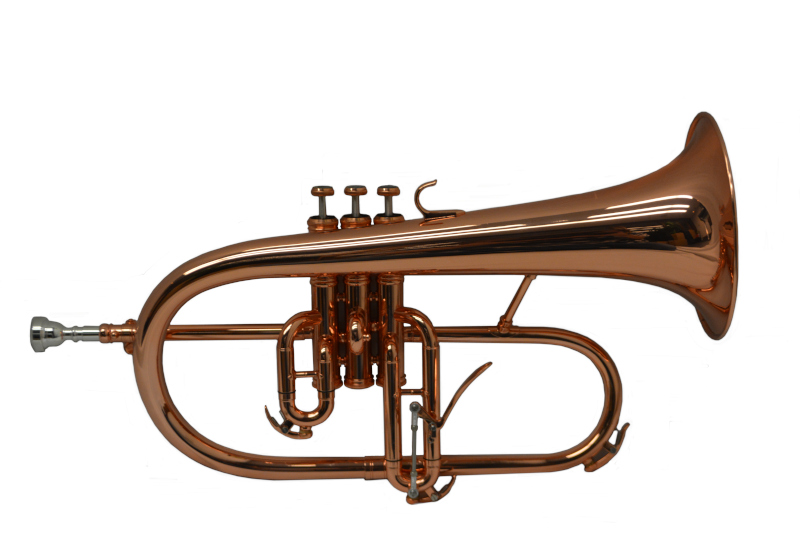Studio Artist Flugelhorn – Copper Plated