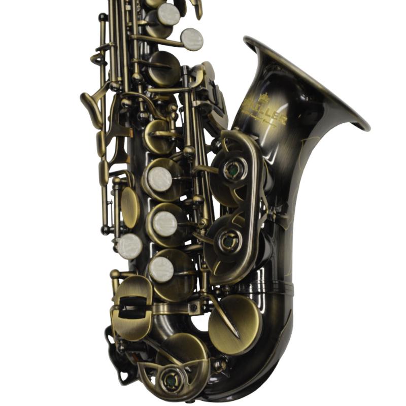 American Heritage 400 Curved Soprano Saxophone – Turkish Brass