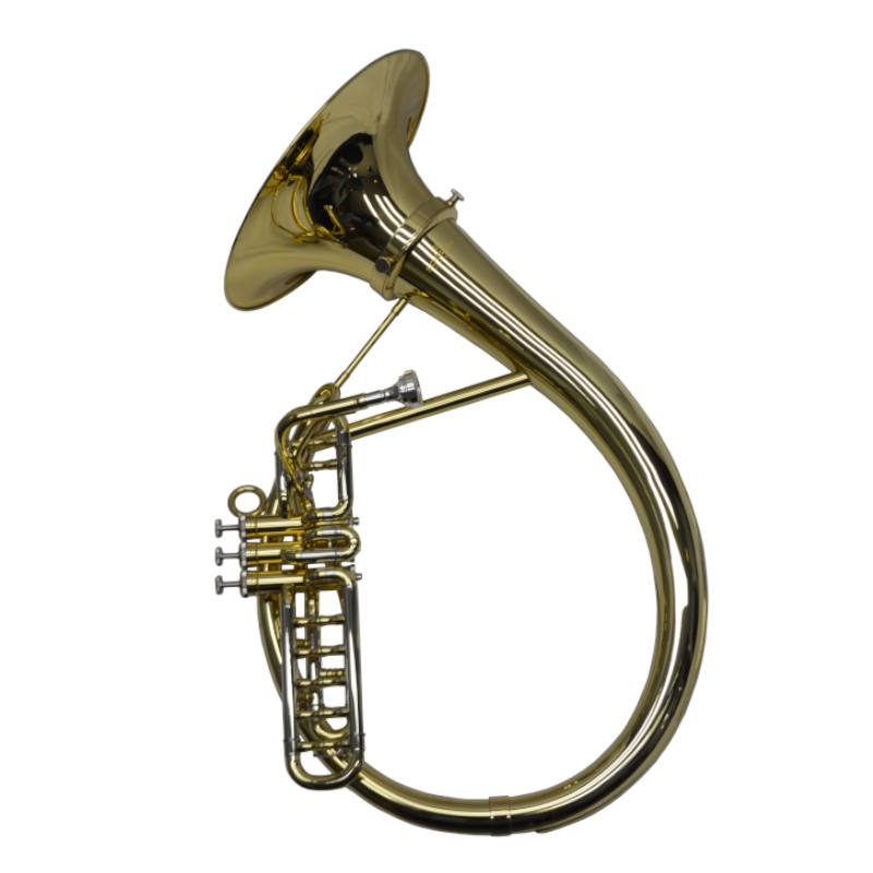 Frankfurt German Brass Band Euphonium – Gold Lacquer