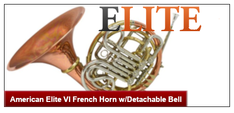 American Elite VI French Horn w/Detachable Bell
