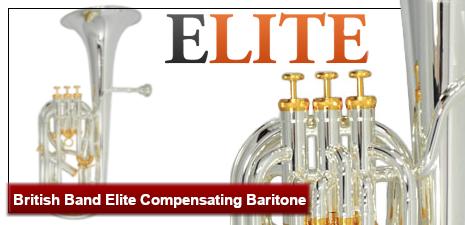 British Band Elite Compensating Baritone
