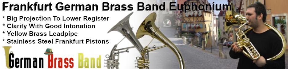 Schiller Frankfurt German Brass Band Euphoniums