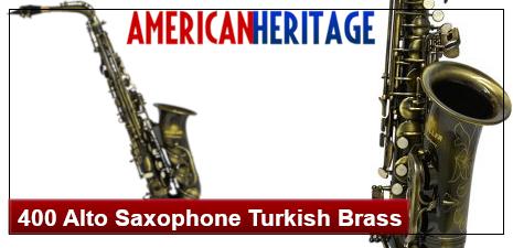 American Heritage 400 Alto Saxophone Turkish Brass