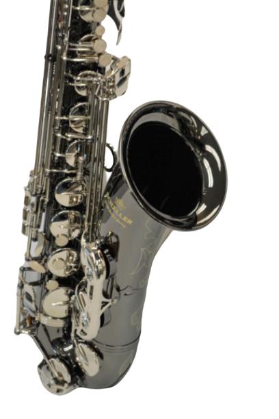 American Heritage 400 Tenor Saxophone Black Nickel/Silver