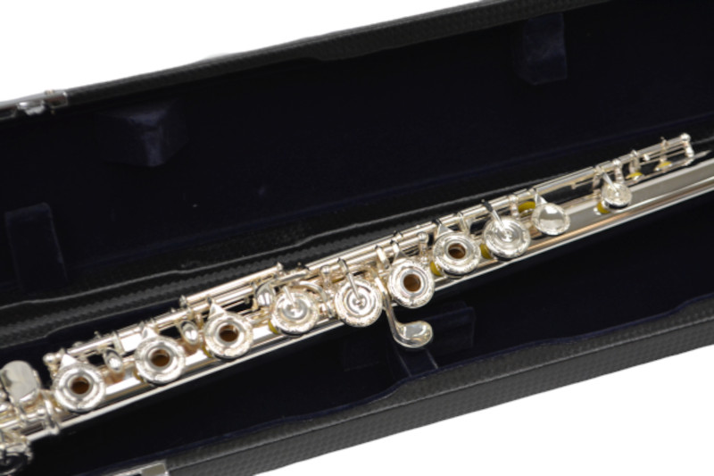 400 Flute W/ Solid Silver Head & Engraving
