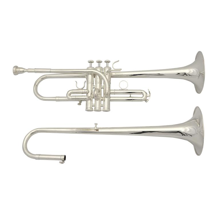 American Heritage D/Eb Trumpet Silver Plated