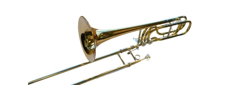 American Heritage Double Rotor Open Bass Trombone