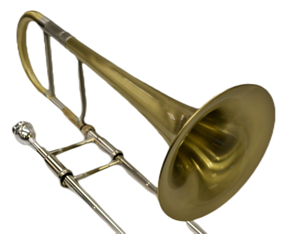 Elite Alto Trombone Brushed Gold