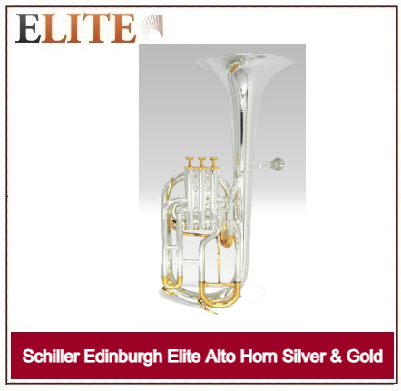 SCHILLER EDINBURG ELITE ALTO SILVER/GOLD