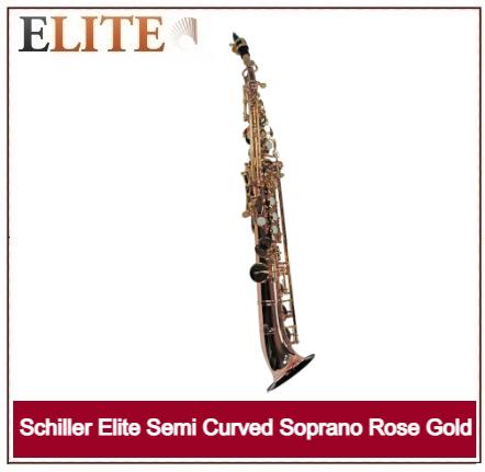 SCHILLER ELITE SEMI CURVED SOPRANO ROSE GOLD