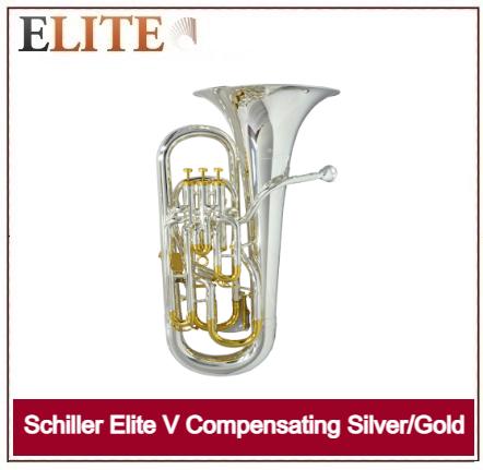 SCHILLER ELITE V COMPENSATING SILVER /GOLD