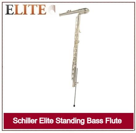 SCHILLER ELITE STANDING BASS FLUTE