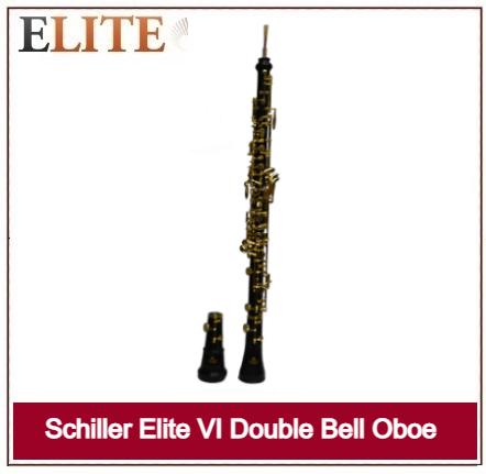 SCHILLER ELITE VI DOUBLE BELL OBOE