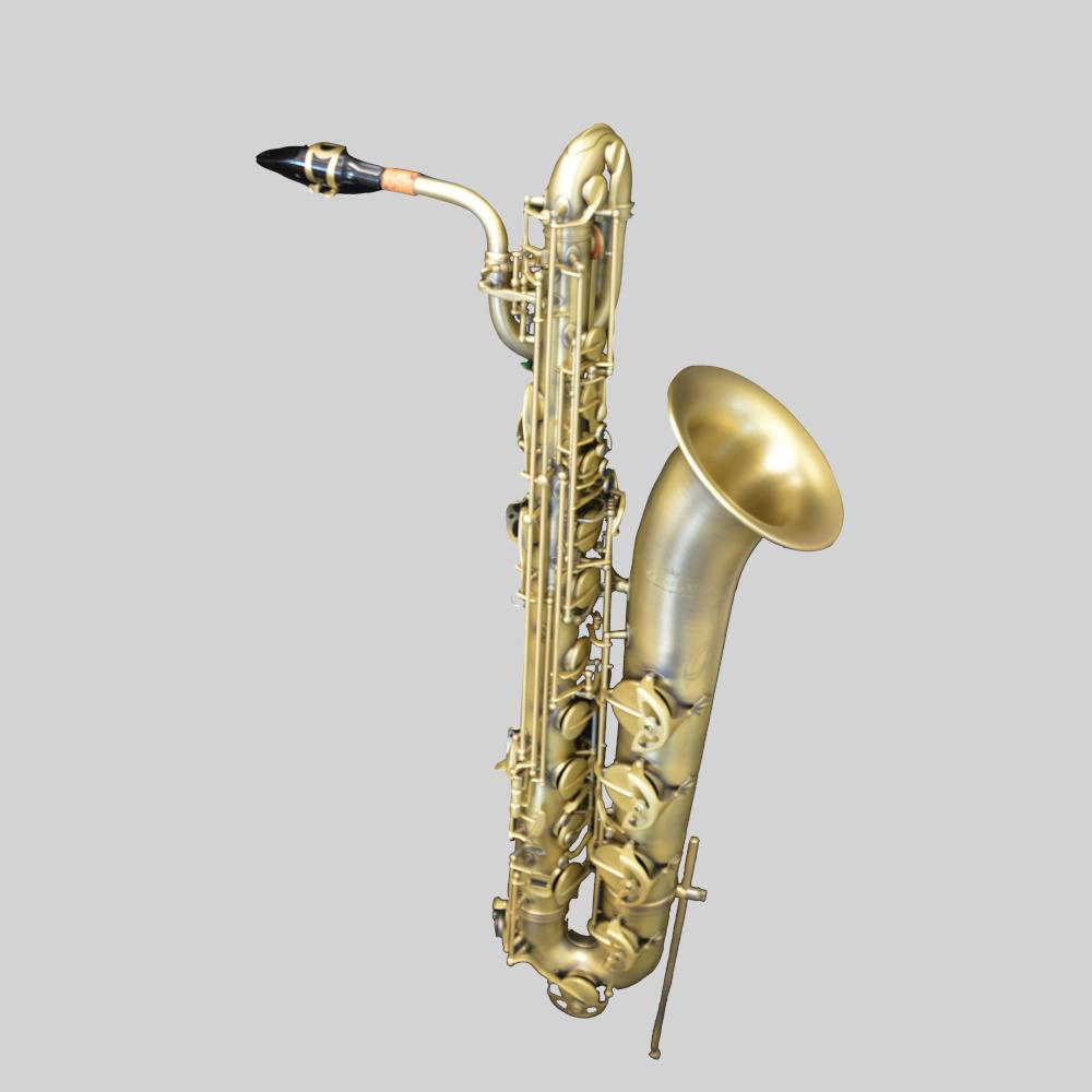 Elite V Baritone Saxophone Luxus Brass Plated