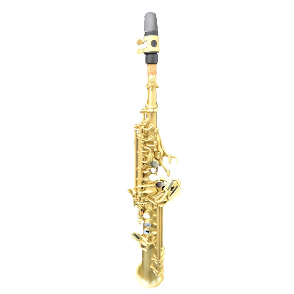 Elite V Soprano Saxophone Brown Grained Gold Artist Edition