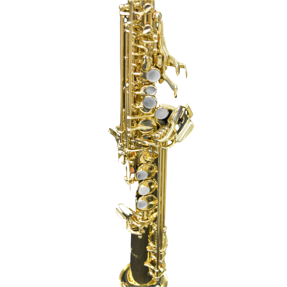 Elite V Soprano Saxophone Gold Lacquer W/Enlarged Bell