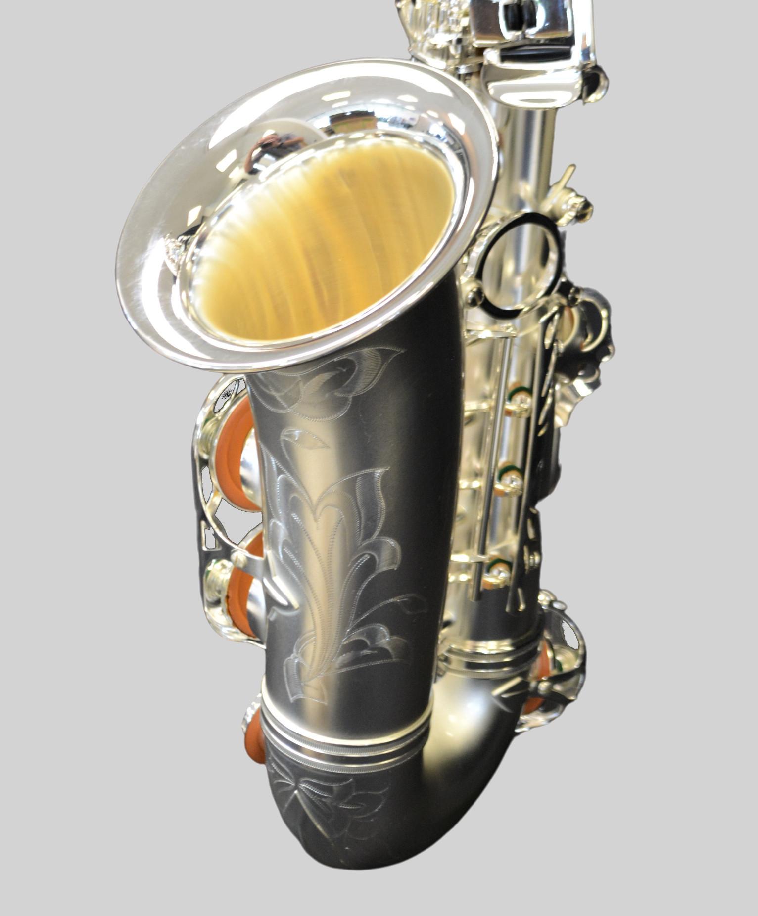 Elite V Alto Saxophone Satin Silver