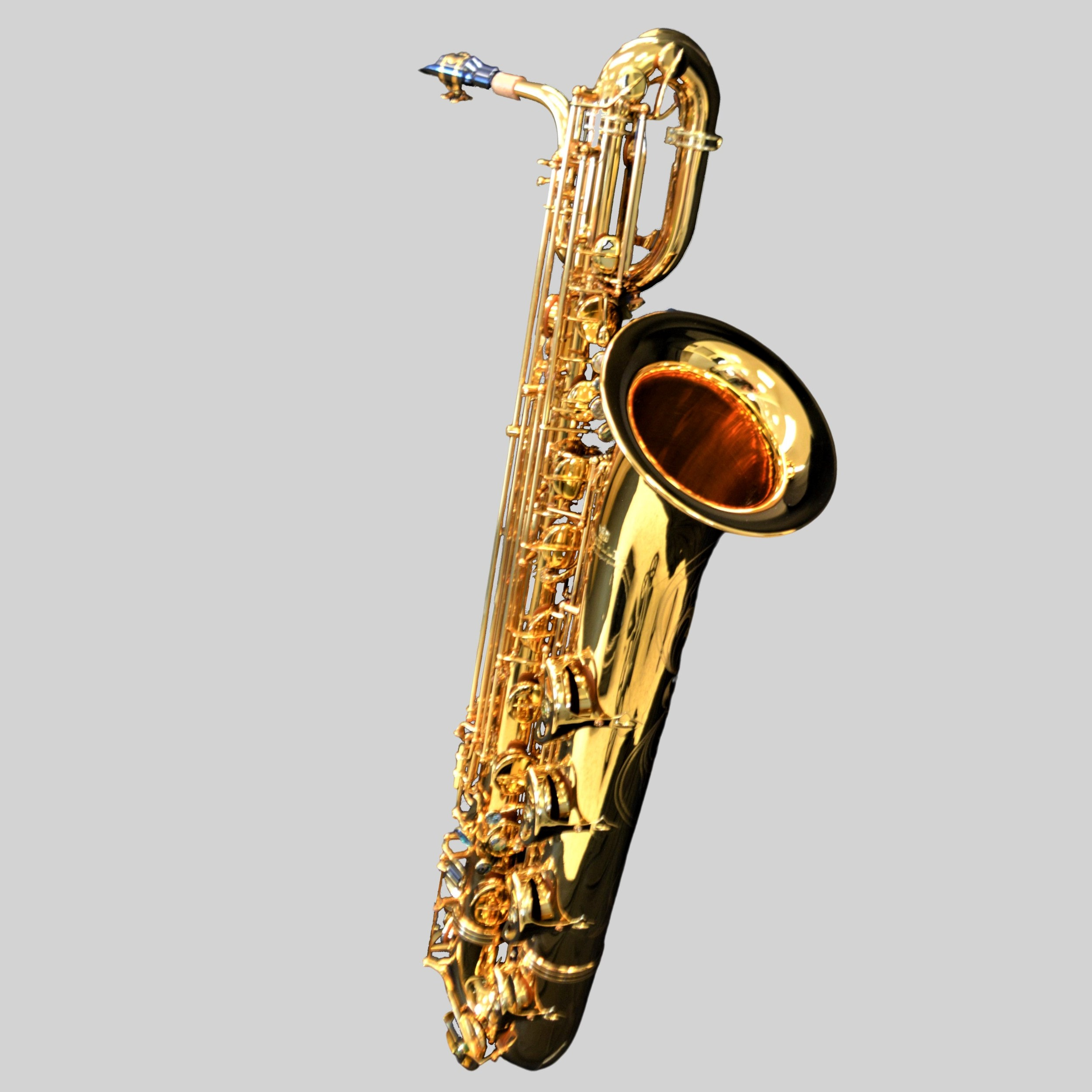 Elite V Baritone Saxophone Gold Plate