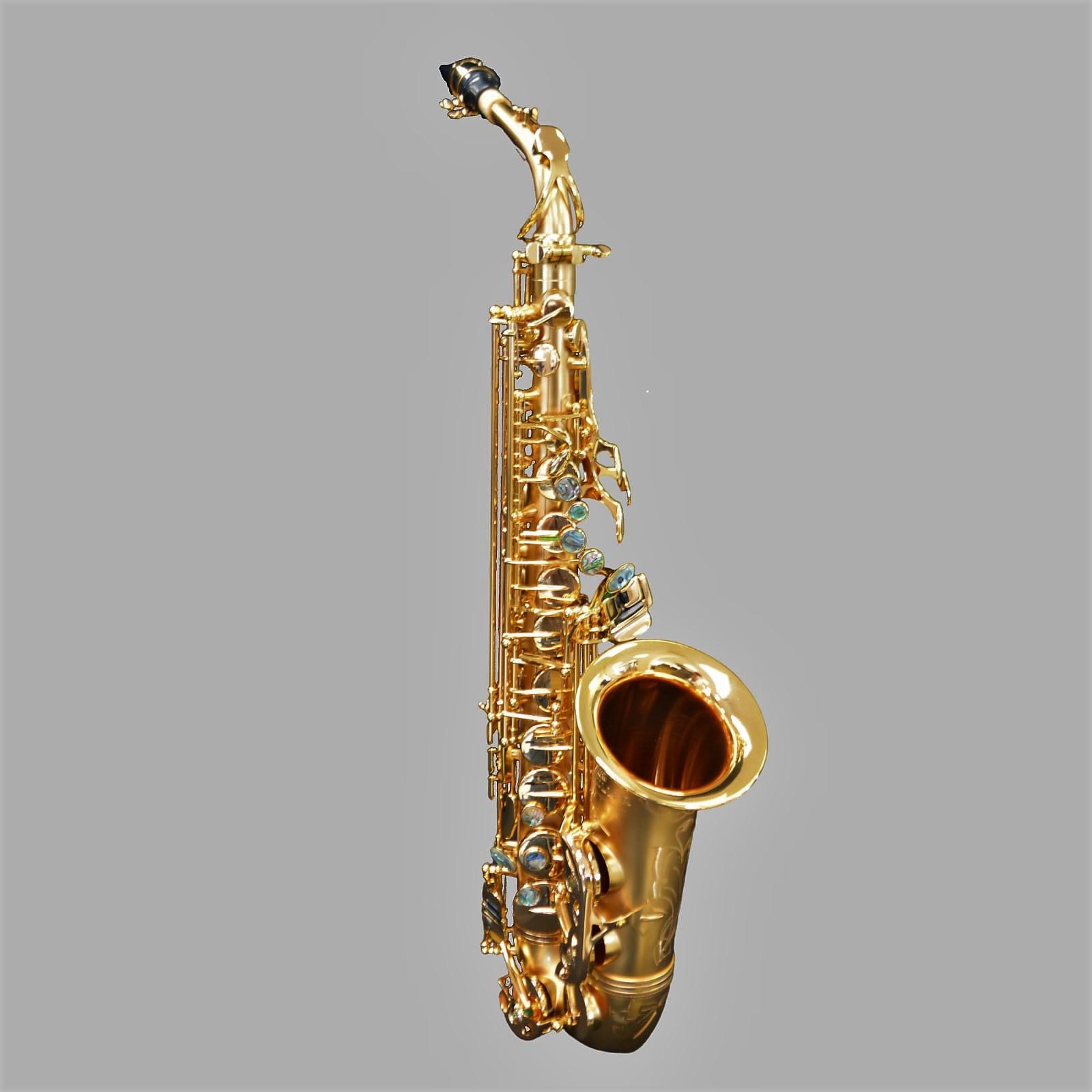 Elite V Alto Saxophone Satin Gold/Gold Big Bell