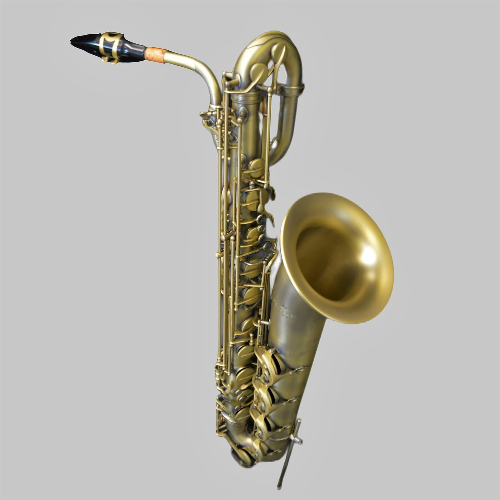 Elite V Baritone Saxophone Luxus Brass Plated