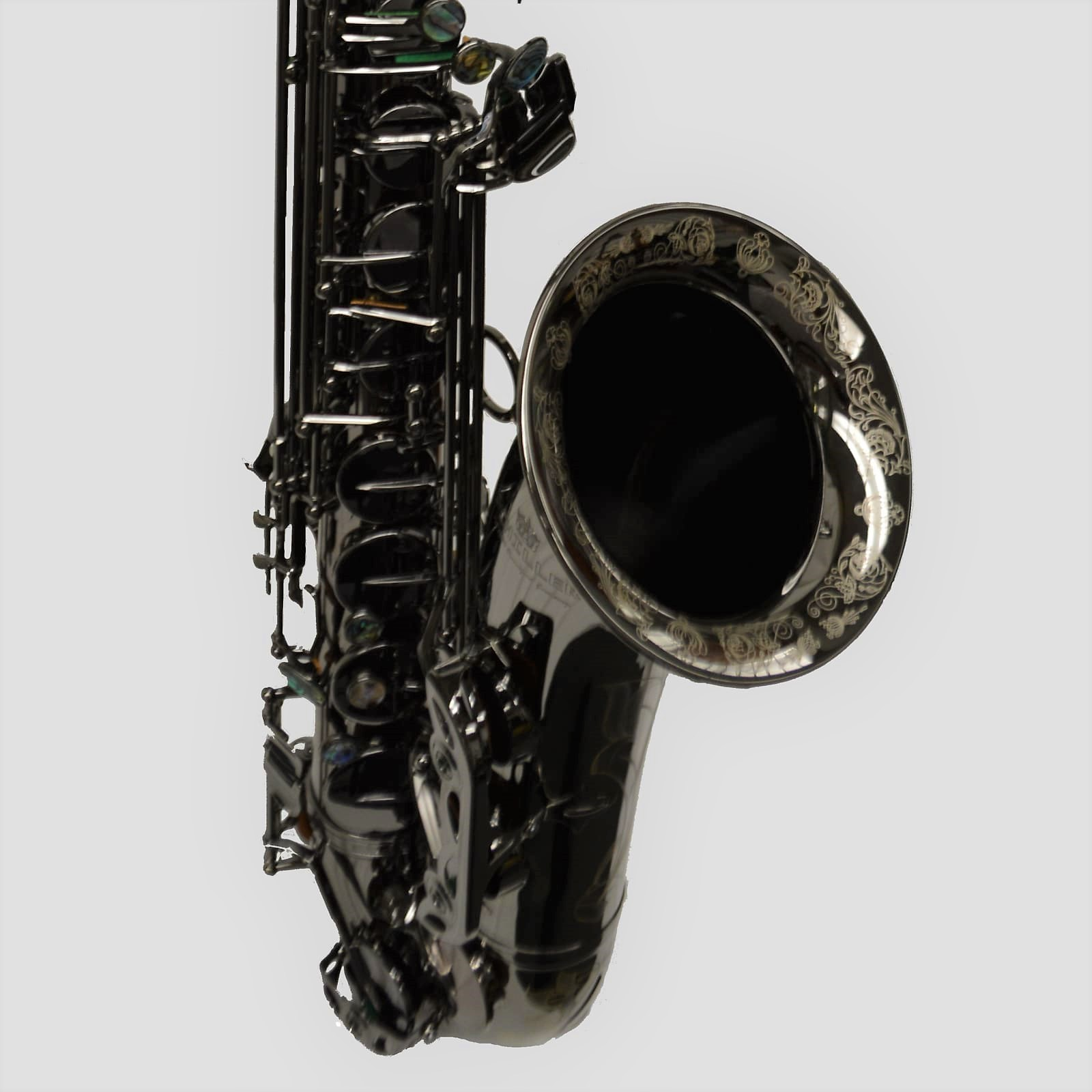 Elite V Tenor Black Nickel Big Bell