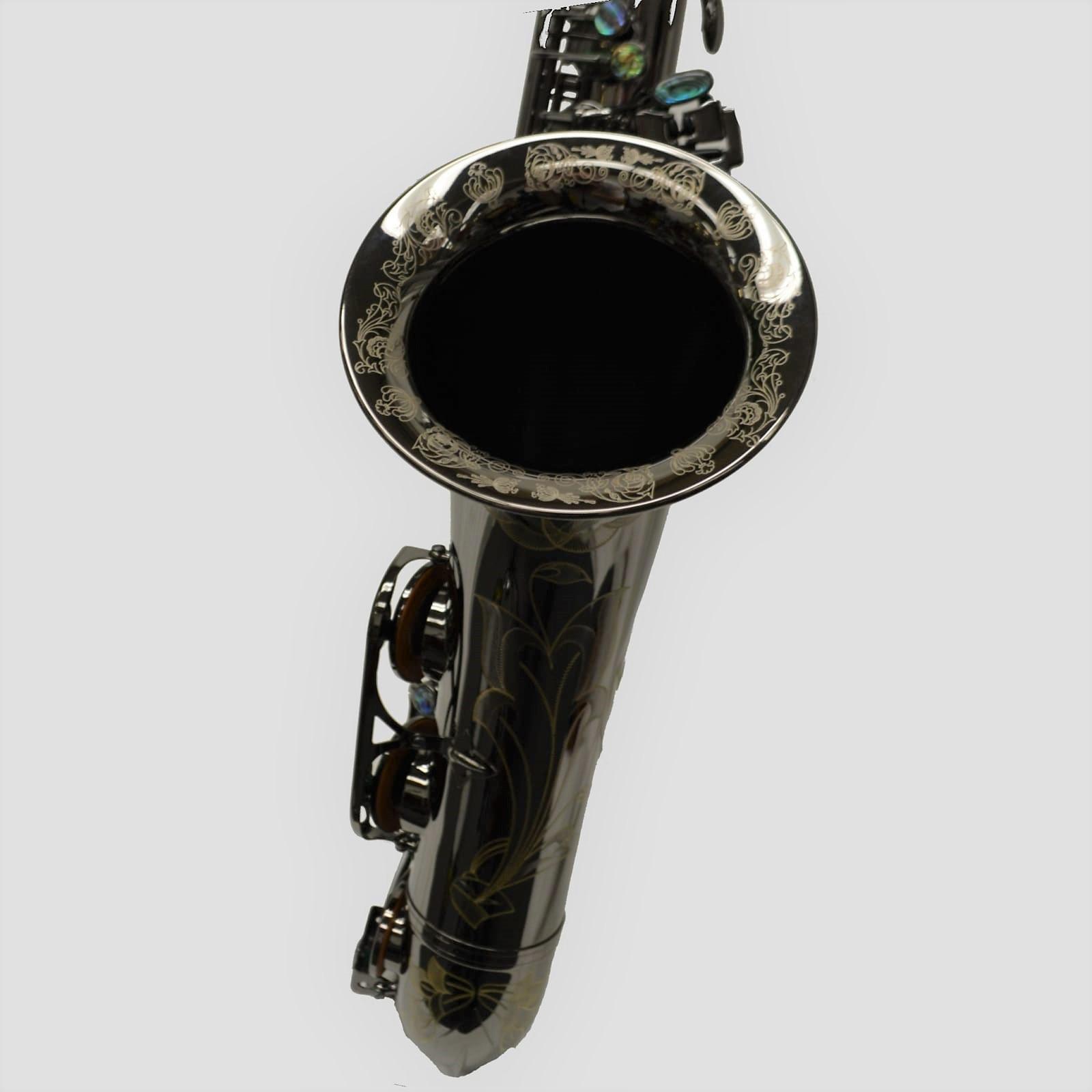 Elite V Tenor Black Nickel Big Bell