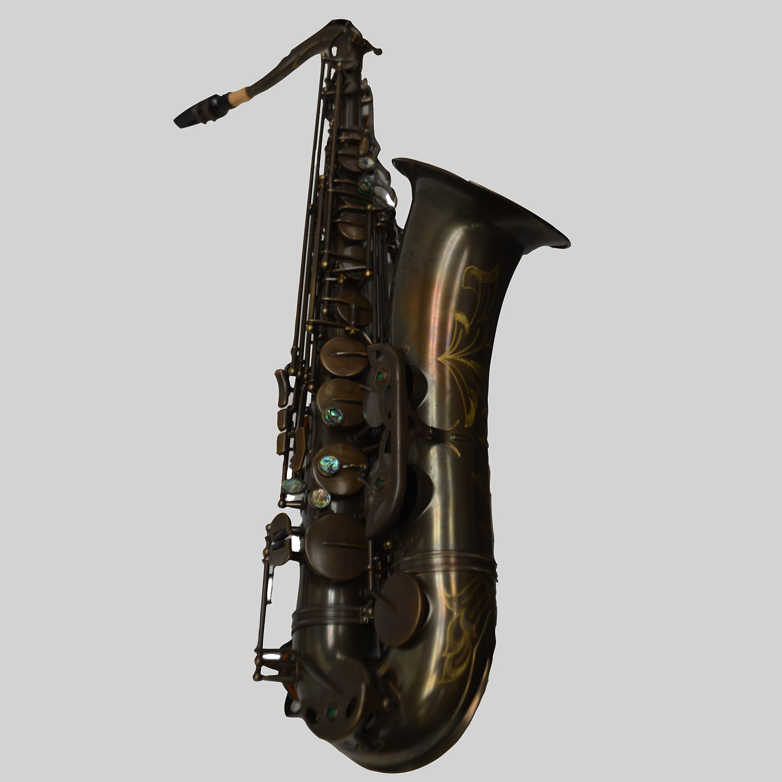 Elite V Tenor Saxophone Aged Brass