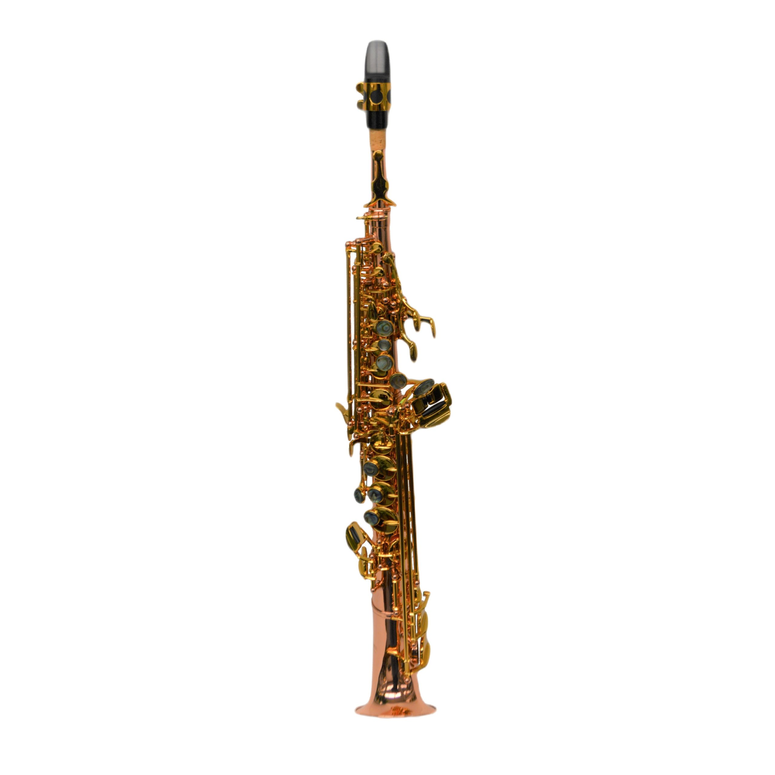 Elite V Semi Curved Soprano Saxophone Copper Rose