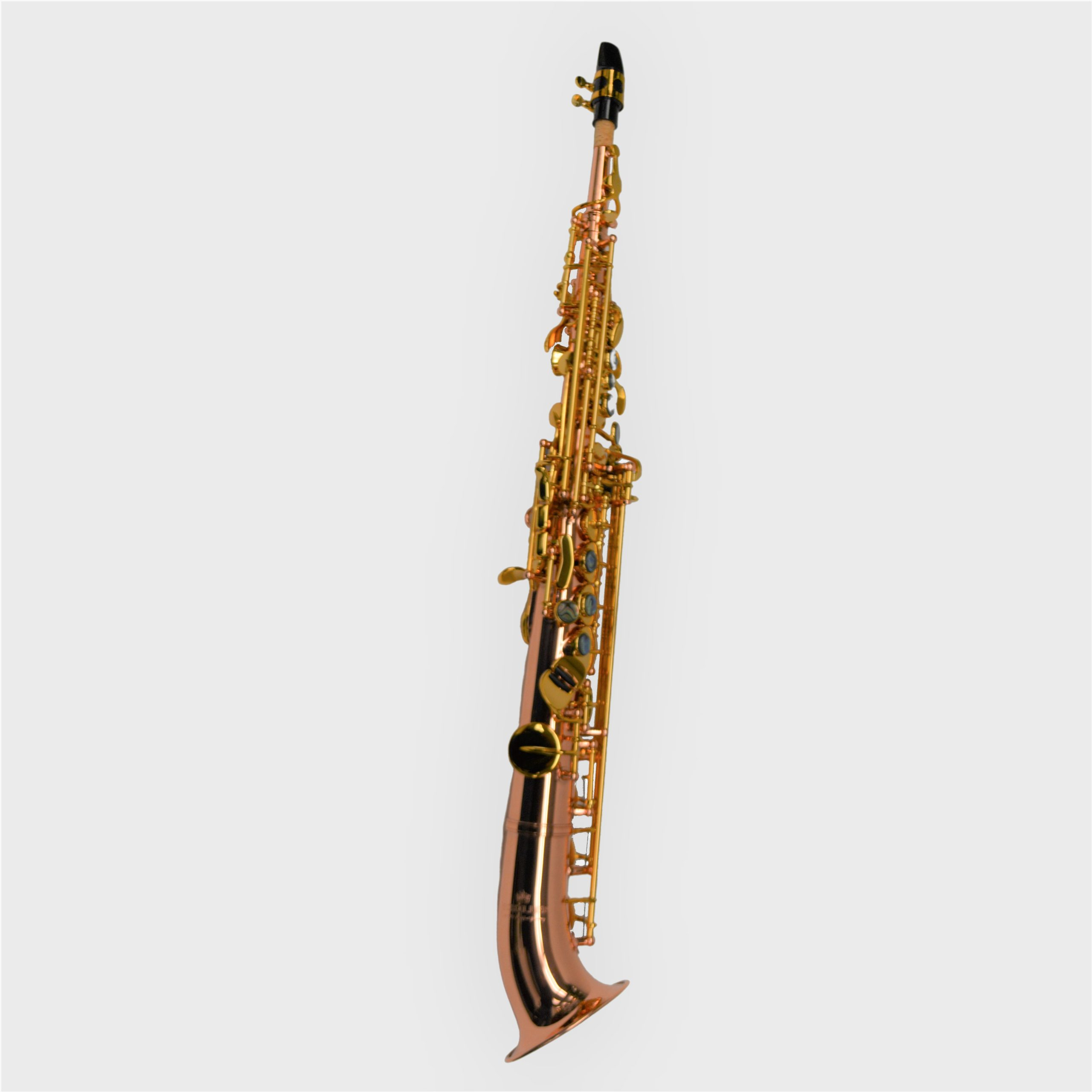 Elite V Semi Curved Soprano Saxophone Copper Rose