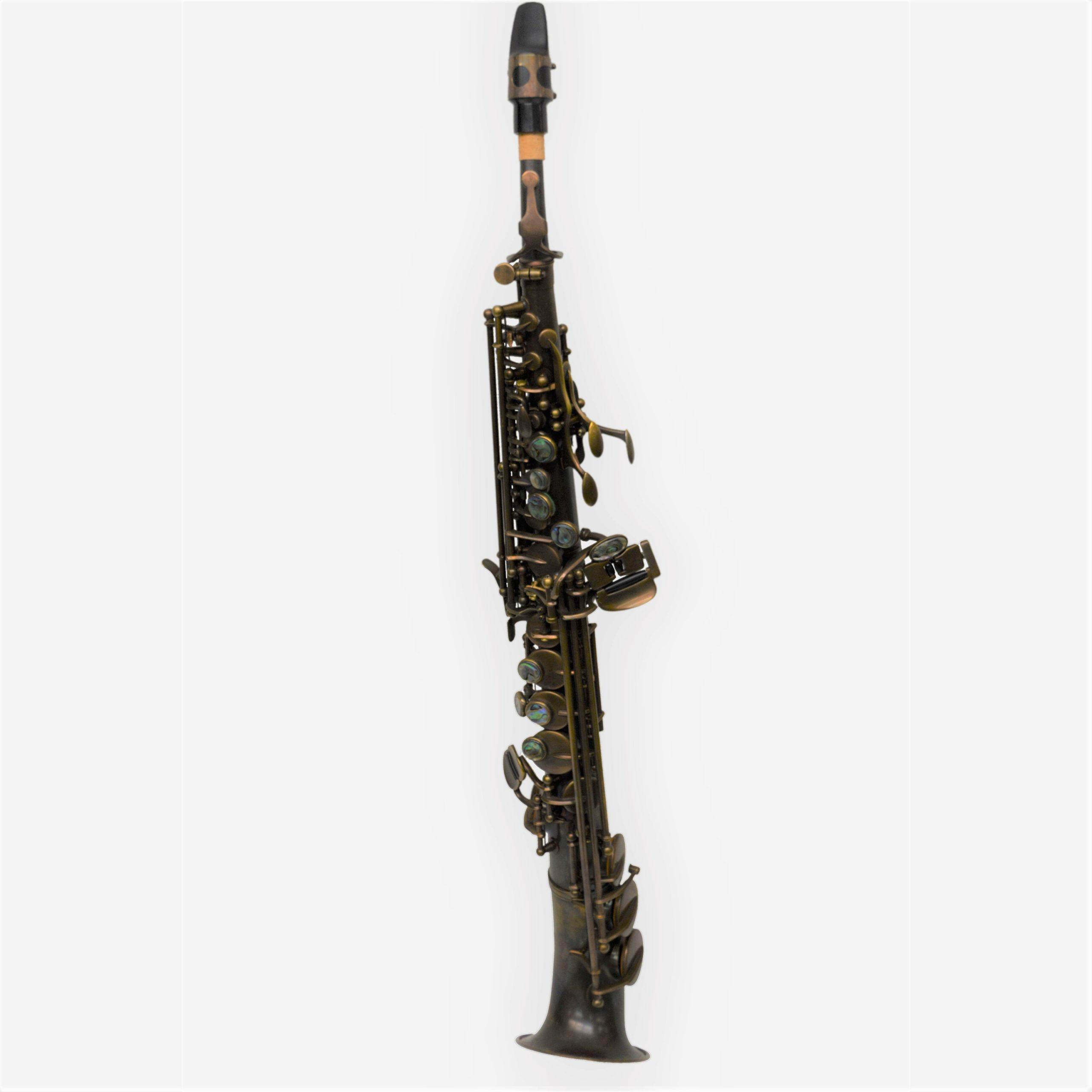 Elite V Semi Curved Soprano Saxophone Vintage
