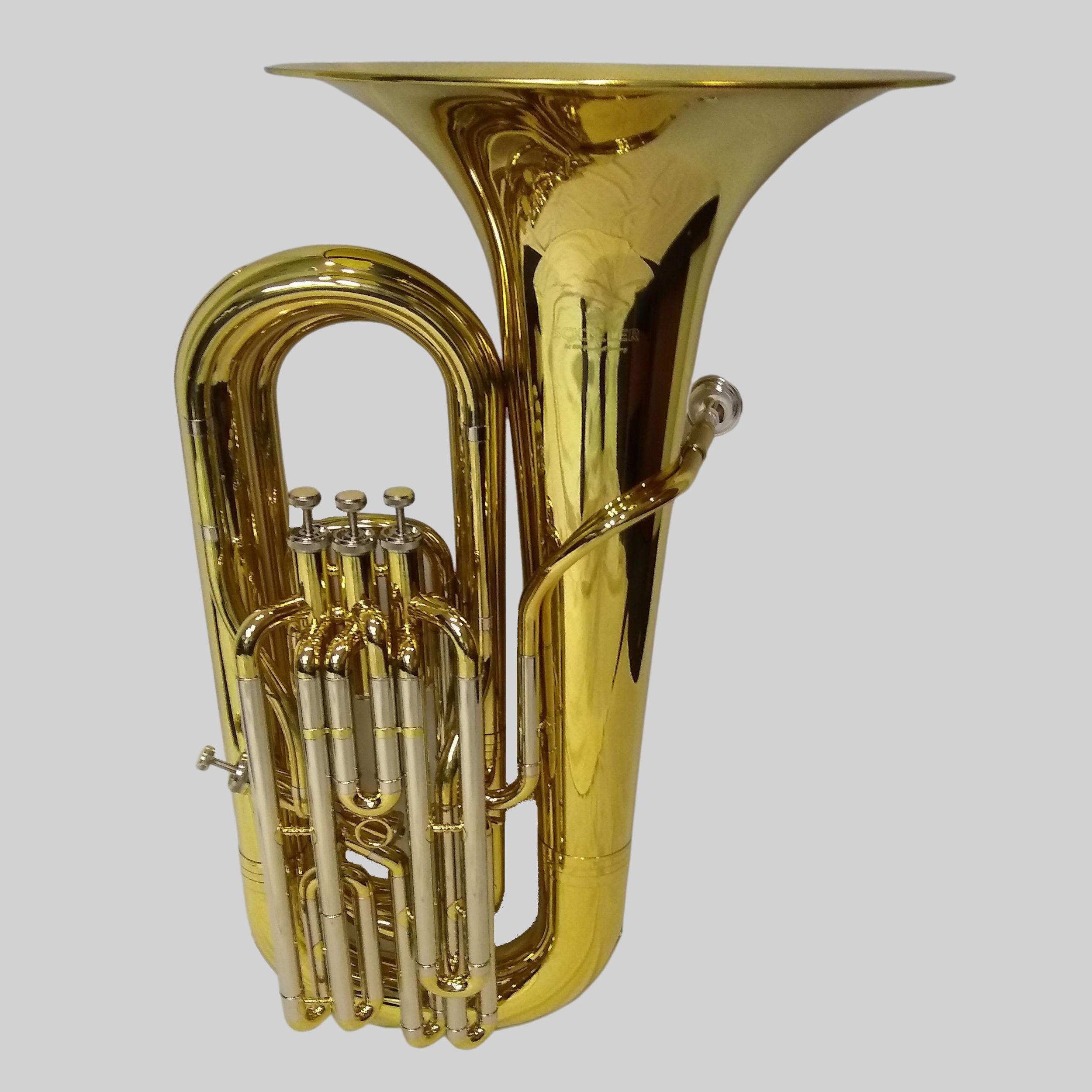 American Heritage 4 Valve Piston Sidekick BBb Tuba – Gold Lacquer